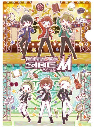 A3 新品 クリアファイル 01.集合デザイン A4クリアファイル 第1弾 グラフアートデザイン 「アイドルマスター SideM」