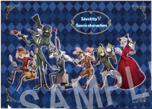 中外鉱業 予約 クリアファイル 集合 A4クリアファイル 「Identity V 第五人格×サンリオキャラクターズ」
