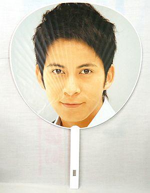 【中古】うちわ(男性) 岡田准一 ジャンボうちわ 「V6 LIVE TOUR 2007 Voyager -僕と僕らのあしたへ-」