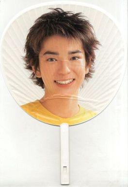 【中古】うちわ(男性) 松本潤(嵐) ジャンボうちわ 「ARASHI First Concert 2000」