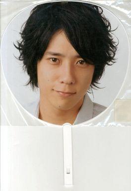 【中古】うちわ(男性) 二宮和也(嵐) ジャンボうちわ 「Johnnys' Countdown 2008-2009」