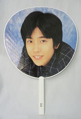 【中古】うちわ(男性) 二宮和也(ジャニーズJr.) ジャンボうちわ 1999年