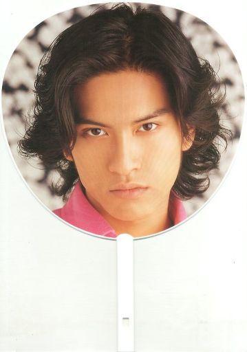 【中古】うちわ(男性) 長瀬智也(TOKIO) ジャンボうちわ 1998年