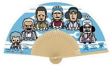 【中古】扇子(キャラクター) 海軍 扇子(パーティー) 「ワンピース×パンソンワークス」