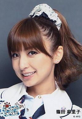 ロングヘアーの篠田麻里子さん