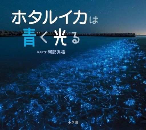 小学館 新品 単行本(実用) <<絵本>> ホタルイカは青く光る