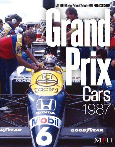 【中古】単行本(実用) <<趣味・雑学>> Grand Prix cars 1987 ジョー・ホンダ写真集 / ジョー・ホンダ