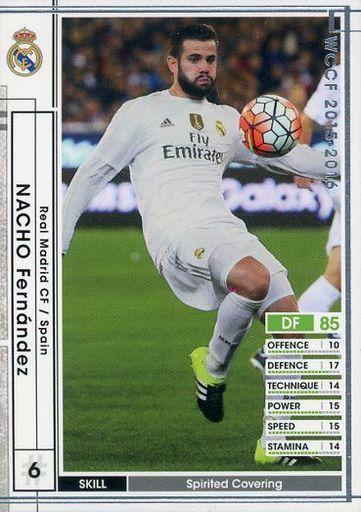 【中古】WCCF/DF/レギュラーカード/2015-2016Ver.2.0 A041 [レギュラーカード] : ナチョ・フェルナンデス