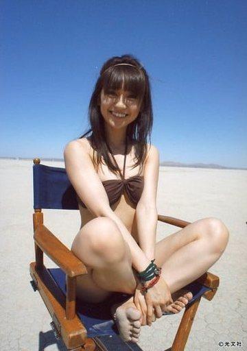 笑顔が可愛い大島優子