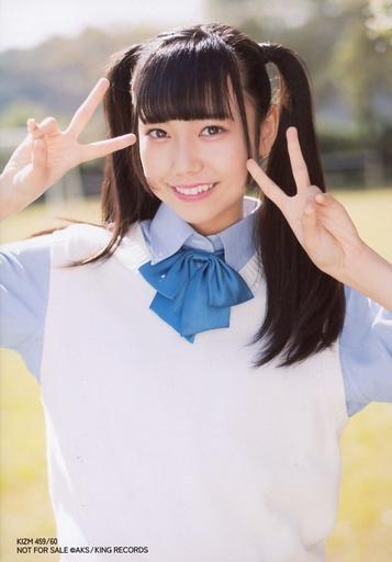 【中古】生写真(AKB48・SKE48)/アイドル/AKB48 長久玲奈/「星空を君に」Ver./CD「ハイテンション」[DVD付通常盤TypeC)(KIZM-459/60] 特典生写真