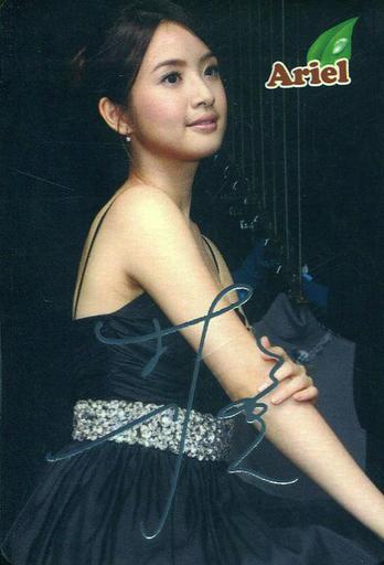 【中古】コレクションカード(女性)/香港YES!カード #1655 : Ariel Lin(林依晨)/銀箔押しサイン入りカード/香港YES!カード