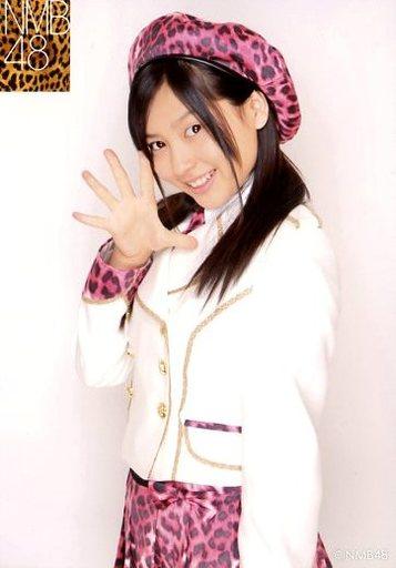 【中古】生写真(AKB48・SKE48)/アイドル/NMB48 太田里織菜/上半身・衣装白・ピンク豹柄スカート・帽子・右手パー/2011 January vol.1 個別生写真