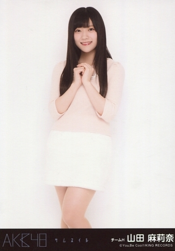 山田麻莉奈/膝上/CD「サムネイル」劇場盤特典生写真