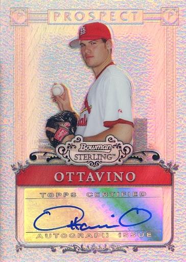 【中古】スポーツ/直筆サインカード/St. Louis Cardinals/Topps 2006 BOWMAN STERLING BAS BSP-AO [直筆サインカード] : ADAM OTTAVINO(直筆サイン入り)(/199)