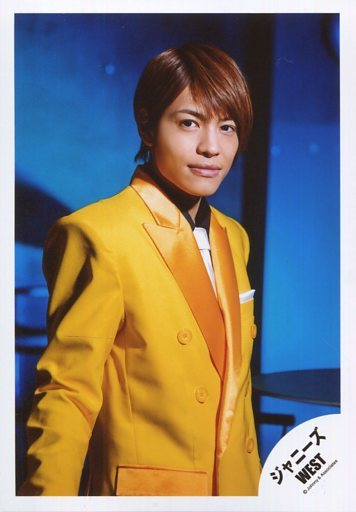 黄色ジャケット正面中間淳太