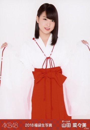 【中古】生写真(AKB48・SKE48)/アイドル/AKB48 山田菜々美/膝上/2018年 AKB48 福袋 ランダム生写真