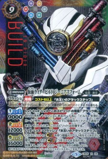 CB06-X06 [X] : 仮面ライダービルド ジーニアスフォーム(SECRET)