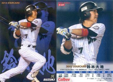【中古】スポーツ/スターカード/2015プロ野球チップス第1弾 S-07 [スターカード] : 鈴木大地