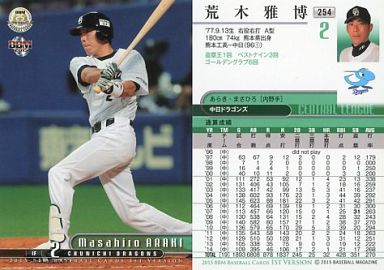 【中古】BBM/レギュラーカード/中日ドラゴンズ/BBM2015 ベースボールカード 1stバージョン 254 [レギュラーカード] : 荒木雅博