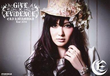 喜多村英梨/BD・DVD「Live 2014 ~GiVE×EViDENCE~」 HMV特典ブロマイド
