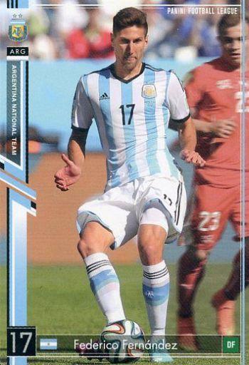 【中古】パニーニ フットボールリーグ/R/DF/ARGENTINA NATIONAL TEAM/2015 05[PFL13] PFL13 088/116 [R] : [コード保証無し]フェデリコ・フェルナンデス