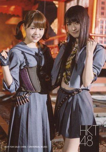 【中古】生写真(AKB48・SKE48)/アイドル/HKT48 穴井千尋・神志那結衣/CD「しぇからしか!」ヤマダ電機特典生写真