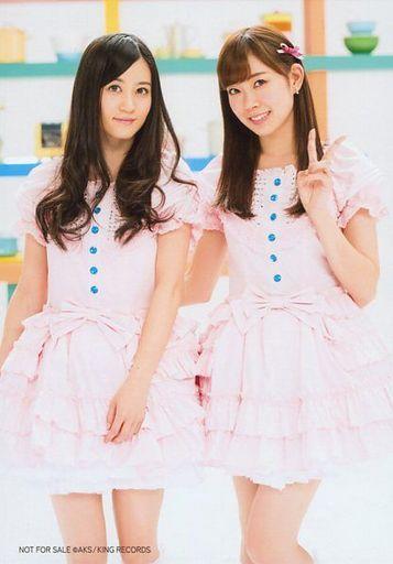 【中古】生写真(AKB48・SKE48)/アイドル/AKB48 渡辺美優紀・上西恵/「君は今までどこにいた?」衣装/CD「右足エビデンス」外付け特典ランダム配布生写真(対象店舗購入特典)