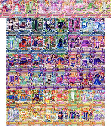 アイカツ!データカードダス「2016シリーズ第3弾」レアコンプリートセット