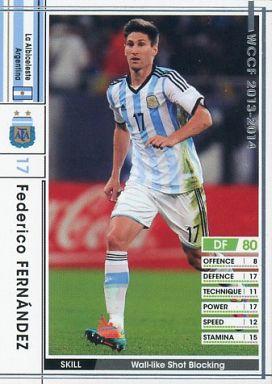 【中古】WCCF/DF/レギュラーカード/2013-2014 275 [レギュラーカード] : フェデリコ・フェルナンデス