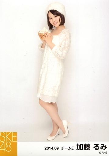 【中古】生写真(AKB48・SKE48)/アイドル/SKE48 加藤るみ/全身・/お月見・「2014.09」個別生写真