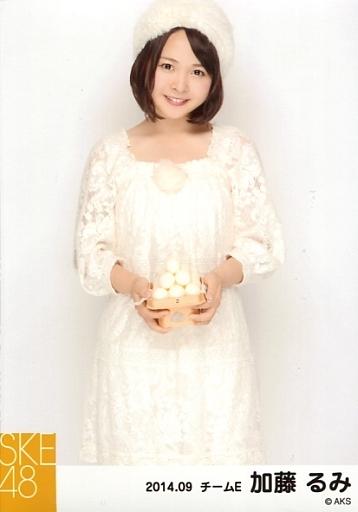 【中古】生写真(AKB48・SKE48)/アイドル/SKE48 加藤るみ/膝上・体正面/お月見・「2014.09」個別生写真