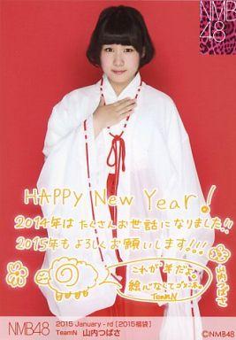 【中古】生写真(AKB48・SKE48)/アイドル/NMB48 山内つばさ/2015 Januuary-rd[2015福袋]