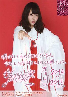 【中古】生写真(AKB48・SKE48)/アイドル/NMB48 山田菜々/2015 Januuary-rd[2015福袋]
