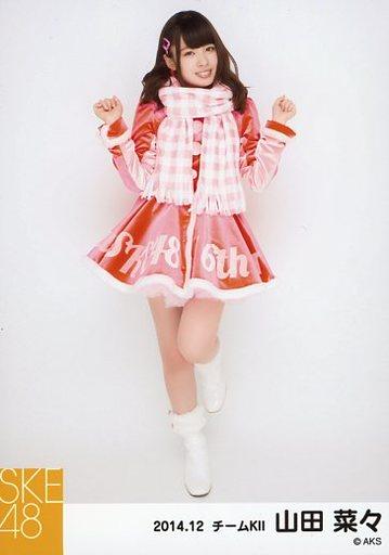 【中古】生写真(AKB48・SKE48)/アイドル/SKE48 山田菜々/全身・両手グー/「2014.12」選抜生写真「12月のカンガルー」