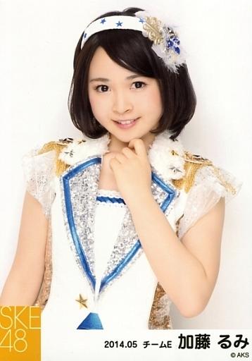 【中古】生写真(AKB48・SKE48)/アイドル/SKE48 加藤るみ/上半身/「NHK紅白ステージ衣装」「2014.05」個別生写真