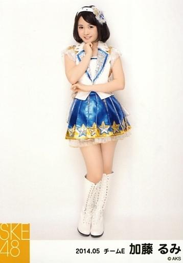 【中古】生写真(AKB48・SKE48)/アイドル/SKE48 加藤るみ/全身・右手顔/「NHK紅白ステージ衣装」「2014.05」個別生写真