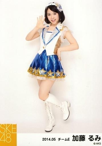 【中古】生写真(AKB48・SKE48)/アイドル/SKE48 加藤るみ/全身・左手腰・右手パー・左足上げ/「NHK紅白ステージ衣装」「2014.05」個別生写真