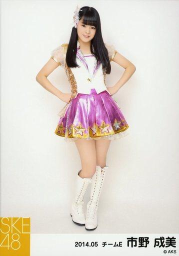 【中古】生写真(AKB48・SKE48)/アイドル/SKE48 市野成美/全身・両手腰/「NHK紅白ステージ衣装」「2014.05」個別生写真