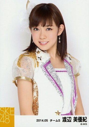 【中古】生写真(AKB48・SKE48)/アイドル/SKE48 渡辺美優紀/上半身/「NHK紅白ステージ衣装」「2014.05」個別生写真