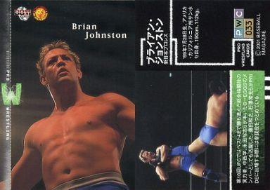 【中古】BBM/レギュラー/レギュラーカード/BBM'2001 プロレスカード 33 [レギュラー] : ブライアン・ジョンストン