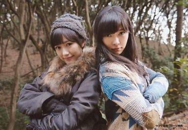 【中古】生写真(AKB48・SKE48)/アイドル/AKB48 渡辺麻友・指原莉乃/CD「前しか向かねえ」ヤマダ電機グループ特典