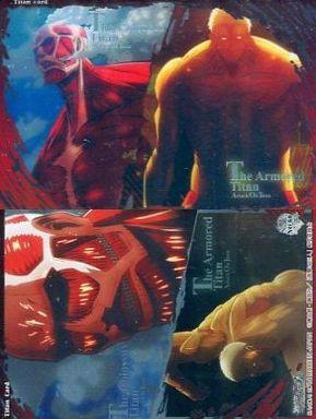 【中古】アニメ系トレカ/巨人カード/進撃の巨人 メタルカードコレクション2 No.60 : 超大型巨人・鎧の巨人