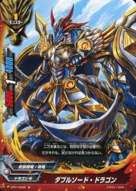 【中古】バディファイト/並/モンスター/ドラゴンW/[BF-CP01]キャラクターパック 第1弾「100円ドラゴン」 CP01/0029 [並] : ダブルソード・ドラゴン