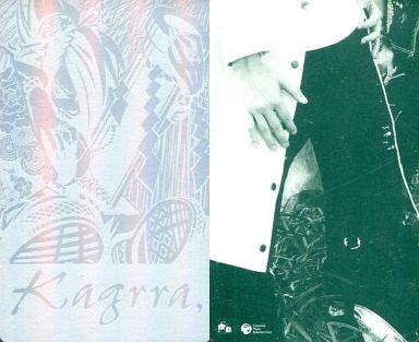 【中古】コレクションカード(男性)/Kagrra ファンクラブツアーグッズトレカ Kagrra/イラスト・ホイル仕様/Kagrra ファンクラブツアーグッズトレカ