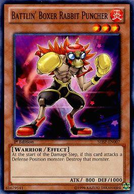SHSP-EN007 [N] : Battlin' Boxer Rabbit Puncher/BK ラビット・パンチャー