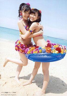 【中古】生写真(AKB48・SKE48)/アイドル/AKB48 渡辺麻友・渡辺美優紀/CD「さよならクロール」ヤマダ電機グループ特典