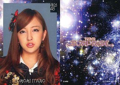 【中古】アイドル(AKB48・SKE48)/チームサプライズ トレーディングカード 板野友美/レアカード(ホイル仕様)/チームサプライズ トレーディングカード
