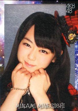 【中古】アイドル(AKB48・SKE48)/チームサプライズ トレーディングカード 峯岸みなみ/レアカード(ホイル仕様)/チームサプライズ トレーディングカード