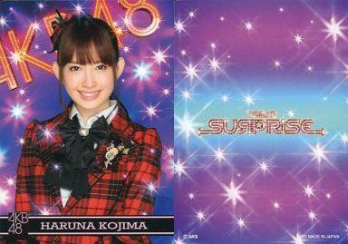 【中古】アイドル(AKB48・SKE48)/チームサプライズ トレーディングカード 小嶋陽菜/ノーマルカード/裏面紫/チームサプライズ トレーディングカード