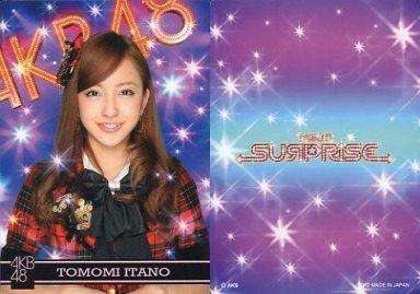 【中古】アイドル(AKB48・SKE48)/チームサプライズ トレーディングカード 板野友美/ノーマルカード/裏面紫/チームサプライズ トレーディングカード